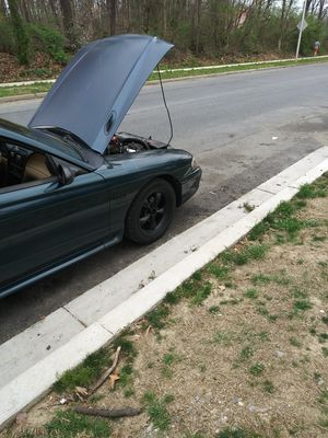 1995 Ford Mustang Gt Convertible for Sale in Laurel, MD