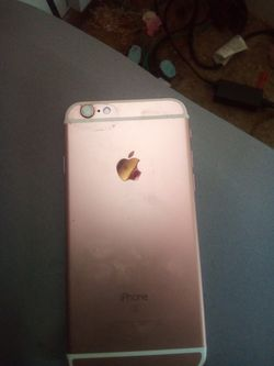 Rose Gold iPhone 6s for Sale in Wichita,  KS