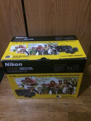 Nikon D3200 for Sale in National City, CA