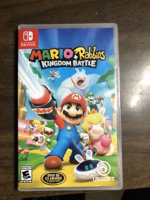 Nintendo Switch Mario + Rabbids Kingdom Battle for Sale in Hesperia, CA