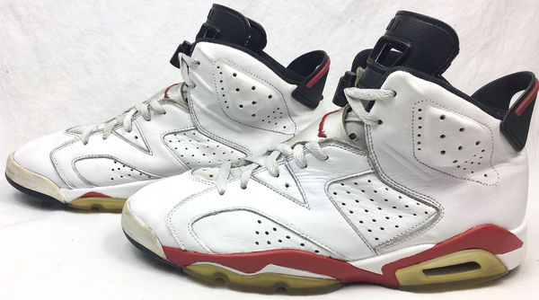 "hot sale online 0b38d 27bfe Air Jordan 6 VI Retro ""Bulls"" White/Varsity Red/Black 2010 Release Men's  Shoes Size 11 for Sale in Santa Clara, CA - OfferUp"