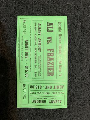 Collectible ticket stub. for Sale in Miramar, FL