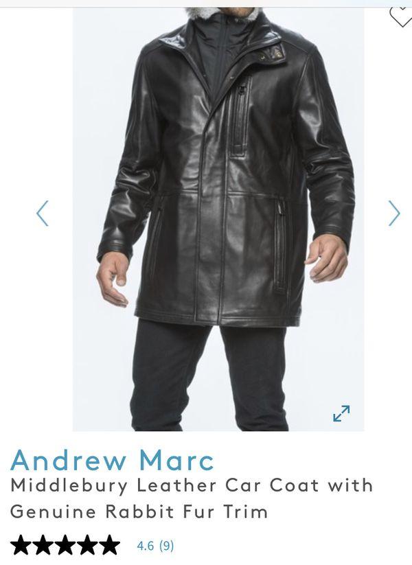 Genuine leather lamb soft Andrew Marc original $750