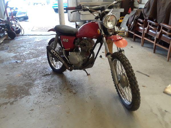 1972 Honda sl 100 vintage