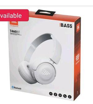 JBL Tune 460BT White Wireless On-Ear Headphones T460BT for Sale in Pompano Beach, FL