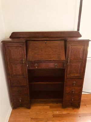 Antique. Vintage secretary desk... early 1900's....one of a kind... for Sale in Los Angeles, CA