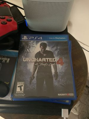 Uncharted 4 a thief's end for Sale in Glen Ellyn, IL