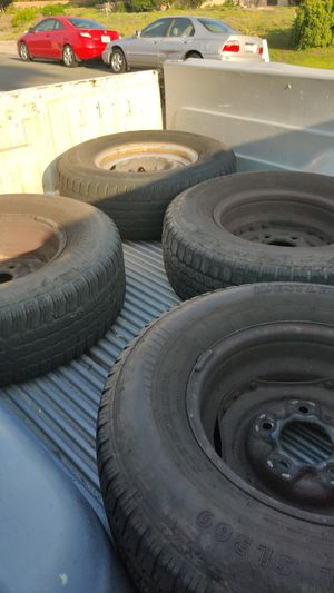Wheels and Tires LT235/75R15 for Sale in San Diego, CA
