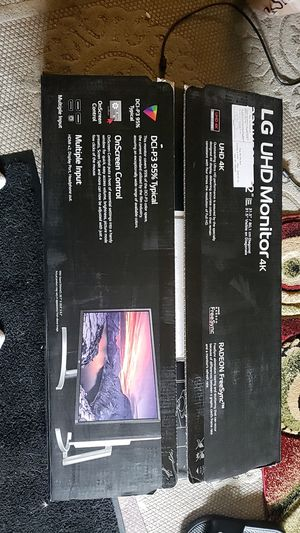 Lg HD 4k monitors gaming for Sale in Torrance, CA