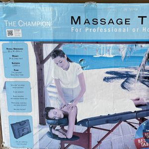 Massage Table-portable for Sale in Haines City, FL