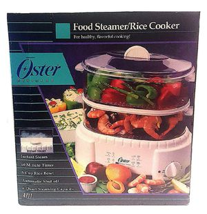 oster food steamer/rice cooker for Sale in Tucker, GA