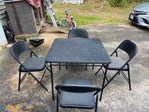 Table and 4 chairs for Sale in Northborough, MA