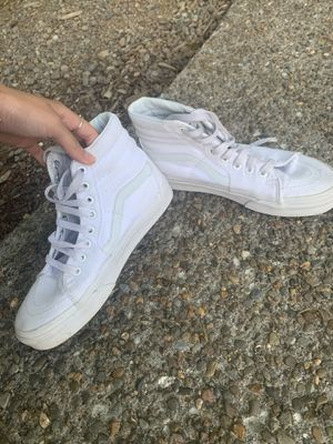High top white vans for Sale in Portland, OR