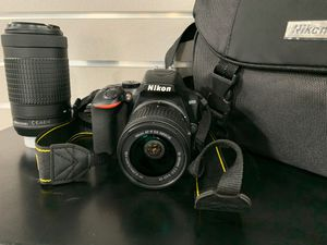 Nikon D3500 with extra lenses for Sale in West Sacramento, CA