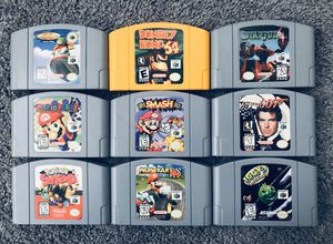 Nintendo 64 (n64) Games for Sale in Somerville, MA