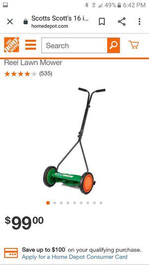 Scott's manual push mower 16 & 20 in for Sale in Yucaipa, CA