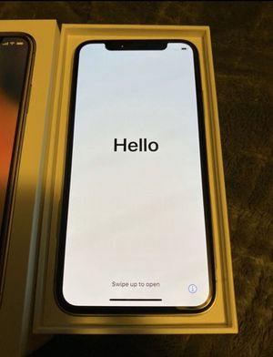 iPhone X unlocked with case for Sale in Doral, FL
