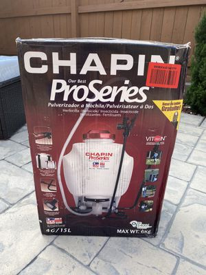 Chapin 61800 4-Gallon ProSeries Backpack Sprayer, Brand New for Sale in Turlock, CA