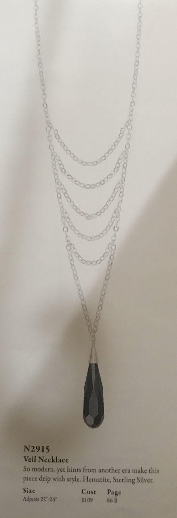 Silpada Veil Necklace