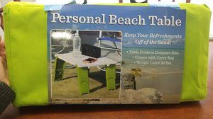 Personal Beach Table for Sale in Alexandria, VA