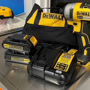 "New Dewalt 20v Max 1/4"" Impact Kit With 2 Batteries And Charger for Sale in Sacramento, CA"