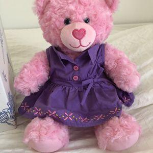 Build A Bear Pink Cuddles Teddy for Sale in Miami, FL