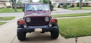 2002 Jeep Wrangler for Sale in Des Plaines, IL