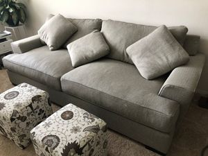 Grey Macy's Ainsworth Couch for Sale in Bellevue, WA