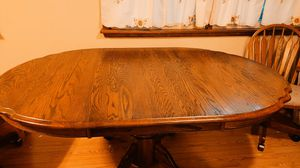 Kitchen table 48X72 real wood for Sale in Portage, IN