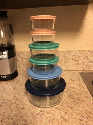 Pyrex glass containers for Sale in Fort Lauderdale, FL