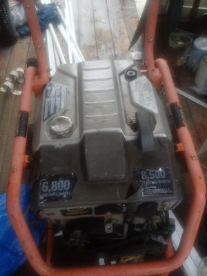 Ridgid Generator Yamaha Motor for Sale in Sacramento, CA