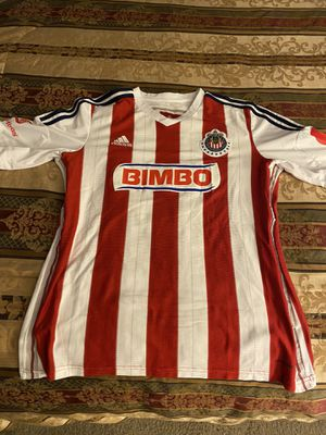Chivas jersey in good condition with Omar bravo name and number size is large in good condition for Sale in Perris, CA