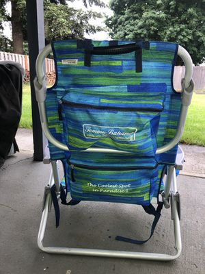 Tommy Bahama Backpack cooler Beach chair for Sale in Vancouver, WA