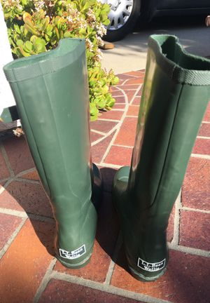 LL Bean wellie Rain Boots for Sale in Irvine, CA