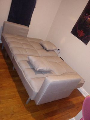 Biege Futon for Sale in Pittsburgh, PA