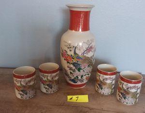 Vintage Japan San Sushi Tea Set for Sale in Puyallup, WA
