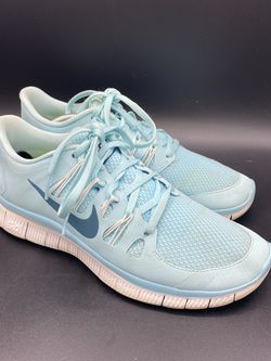 Nike Free 5.0 Women's 8.5 Turquoise Blue Teal Athletic Running Shoe 580591-431 for Sale in Peoria,  IL