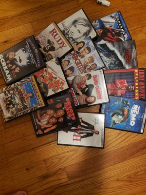 13 DVD'S. DRAMA, HORROR. ROMANCE. ETC for Sale in Uniontown, OH