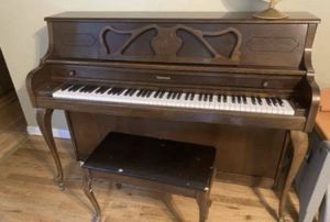 Schuerman piano and chair for Sale in Marysville, WA
