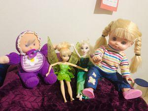 4 cute dolls for Sale in Redmond, WA
