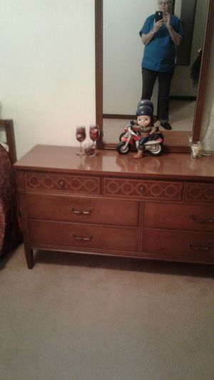 Match Dresser and Bed Frame for Sale in Jefferson City, MO