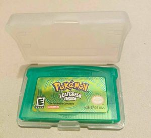 Pokemon Series Video Game Cartridge Console Card Classic LeafGreen for Sale in Bala Cynwyd, PA