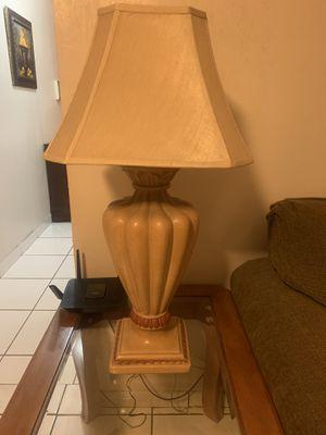 Lamp set / lámpara de Mesa 2 for Sale in Miami, FL