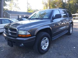 2002 Dodge Durango 4×4 160k miles for Sale in Bowie, MD