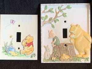 Classic winnie the pooh wall plates for Sale in Waterbury, CT