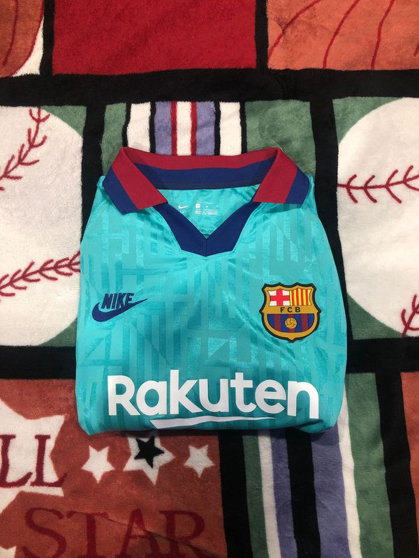 Brand New With Tag 2019-2020 Barcelona Third Jersey