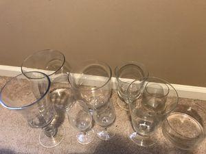 Glassware, glasses, vase, bowl lot for Sale in Chantilly, VA