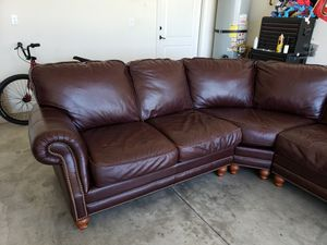 Leather Sectional for Sale in Shafter, CA