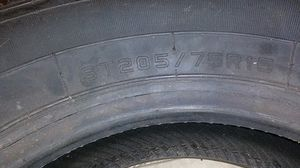 New tire 205 75 15 $40 for Sale in Bakersfield, CA