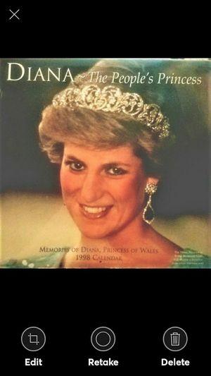 Diana Calendar`1998`The Peoples Princess for Sale in Lynchburg, VA